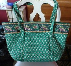 Vera Bradley Miller Bag in retired Greenfield pattern - £44.51 GBP