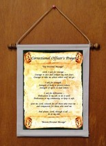 Correctional Officer's Prayer - Personalized Wall Hanging (138-1) - $19.99
