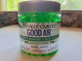 Yankee Candle Good Air 6.7 Oz. Beads Just Plain Fresh Odor Neutralizer B... - $13.08