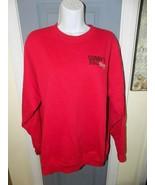 Sonny's BBQ Red Long Sleeve Sweatshirt Size L Men's EUC - $20.25
