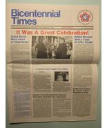 Bicentennial Times Newspaper, Final Issue, Vol. 3, December 1976, Excell... - $3.96