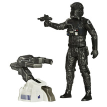 Star Wars The Force Awakens 3.75-Inch Figure Space Mission First Order TIE - $11.87