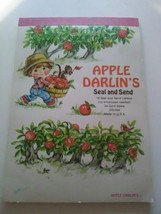 Vtg 70's Apple Darlin's SEAL AND SEND STATIONERY Letters & Seals Postale... - $19.44