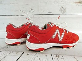 New Balance Men's Low-Cut REVLite Cleats (L2000AR2) - Red/White Size 12.... - $56.95