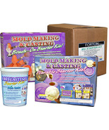 New Smooth-On Moldmaking Casting Pourable, Brushable & Life Casting Star... - $25.73+
