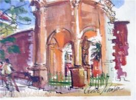 SIGNED CECILE JOHNSON BERMUDA WATERCOLOR ART LITHO #3 - $152.03