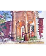 SIGNED CECILE JOHNSON BERMUDA WATERCOLOR ART LITHO #3 - $152.03