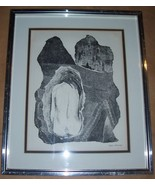 SIGNED DEENA BRESSMAN JEWISH ILLUSTRATIVE ART LITHO - $579.05