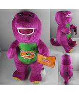 "12"" Barney Sing Song Musical Plush Purple Dinosaur Doll ideal for gift - $15.99"