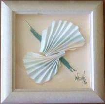 SIGNED & FRAMED FRANK WALCUTT ART DECO MIXED MEDIA ART - $94.14