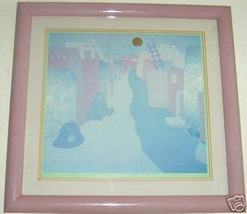 SIGNED & FRAMED JACQUELINE ROCHESTER LITHOGRAPH PRINT - $190.87