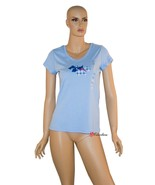 Charter Club Women's Sleepwear Pajama Sleepshirt Blue Scottie 100% Cotto... - $12.49