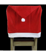 Christmas Holiday Party RED SANTA HAT CAP CHAIR... - $3.93
