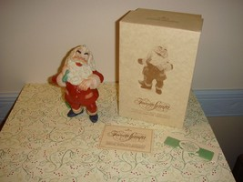 Hallmark 1987 Favorite Santa Porcelain Hand Painted Ornament - $19.99