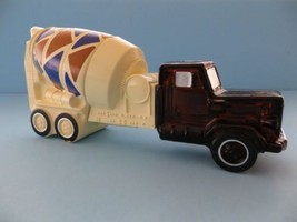 New in box 1979 Avon cement mixer with lotion sealed - $19.75