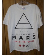 Thirty Seconds To Mars T Shirt This Is War 2009 - $49.99