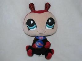 "Littlest Pet Shop Ladybug Plush Stuffed Animal Toy 2007 VIP 9"" Hasbro - $11.87"