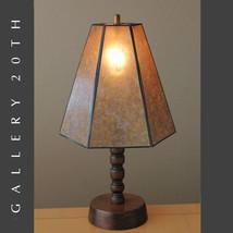 SCARCE MID CENTURY MODERN SCULPTURAL WOOD LAMP! 50's Danish Eames Vtg 60's - €648,74 EUR
