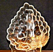 Concord Grape triangular Glass Candy Dish AA19-LD11934 Vintage image 4