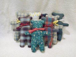 Handmade Vintage Fabric Cookie Cutter Style Stu... - $11.99