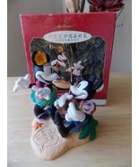 1999 Disney Hallmark Mickey and Minnie in Paradise Ornament - $25.00