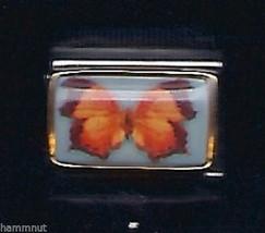 Butterfly #6   Wholesale Italian Charm In  9 Mm - $7.16