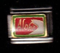 Aloha  Wholesale Italian Charm 9 Mm K#14 - $7.16