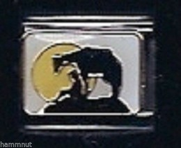 Cow, Person, And Moon  Wholesale Italian Charm 9 Mm - $7.16