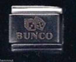 Bunco Dice Wholesale Italian Charm #7 Stainless Steel - $7.16
