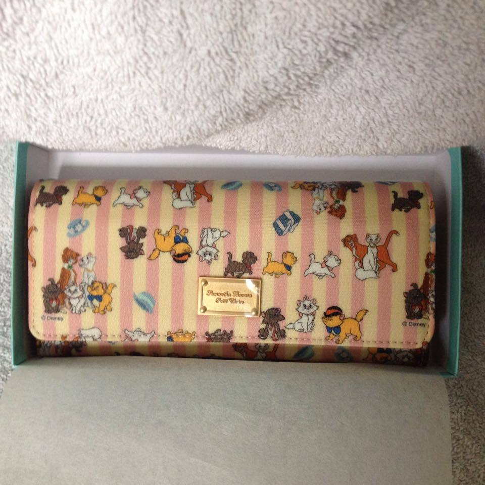 Primary image for Disney Samantha Thavasa Aristocat ~ Large Front Snap Wallet ~ Japan exclusive
