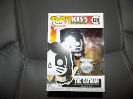 Funko Pop! Rocks Official Vinly Figure KISS The Catman #124 Original FUNKO BOX - $44.00