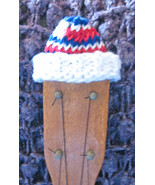 Headstock Hat For Your Soprano Sized Ukulele/Patriots/Patriotic/Red/Whit... - $5.99