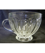 Anchor Hocking Lot of 11 Clear Colonial Rounded Paneled Glass Punch Cup ... - $58.17