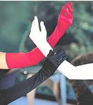 Black Long Gloves Over the Elbow Opera Length Black Gloves - $19.99