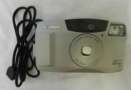 Canon Sure Shot 60 Zoom Point Shoot 35mm Film Camera - $19.57