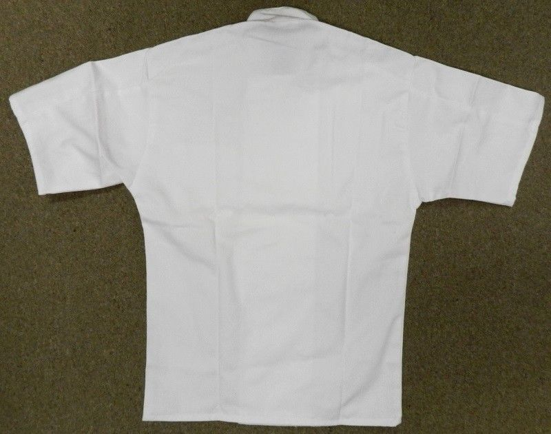 Chef Coat Jacket Uncommon Threads 415 White Short Sleeve Uniform Large New