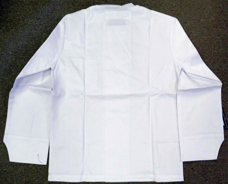 Chef Jacket Dickies CW070305A Restaurant Button Front White Uniform Coat XL New
