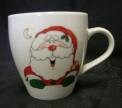Christmas Holiday Santa Claus Hot Chocolate Milk Cookies Cup Mug Collect... - $19.57