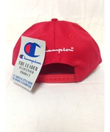 Free Ship Wholesale Lot 20 Champion Red Baseball Caps New With Tags - $79.99