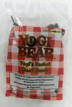 Collectible Wendys Kids Meal Yogi Bear Basket Stack Game Toy New - $19.57