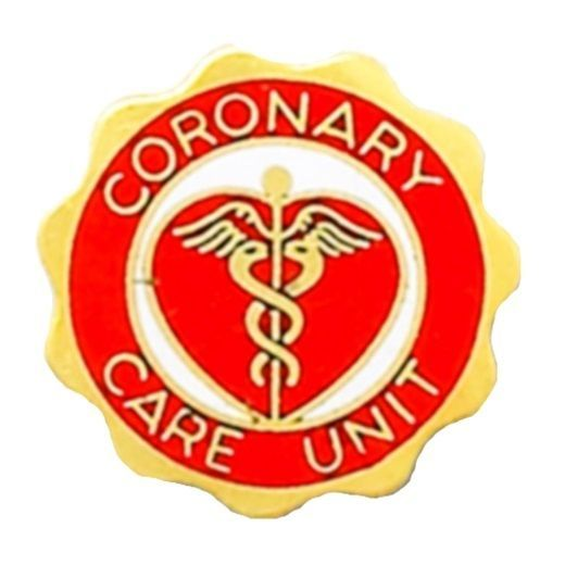 Primary image for Coronary Care Unit Pin CCU Medical Graduation Professional Caduceus 978 New
