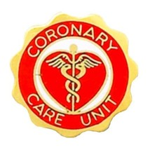 Coronary Care Unit Pin CCU Medical Graduation Professional Caduceus 978 New - $13.55