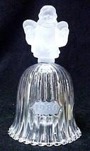Goebel Frost Angel Bell Hummel 1980 Crystal West Germany Large Vintage - $29.07