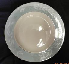 """Homer Laughlin Cavalier True Romance Eggshell Dinner 10"""" Plate Chipped V... - $19.57"""