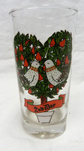 Indiana American Glass 12 Days of Christmas Beverage Glass 2nd Day Vintage - $24.47