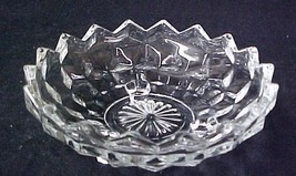 Jeannette Cube Depression Glass Footed Candy Dish - $19.37