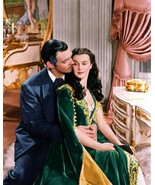 Gone With The Wind B Gable Leigh Romantic 8X10 Color Movie Memorabilia  ... - $6.99