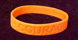Orange Awareness Bracelets Lot of 12 Piece Silicone Wristband Cancer Cause New image 4