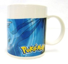 Pokemon Collectible Sherwood Blue Gray Cartoon Coffee Cup Mug - $21.53