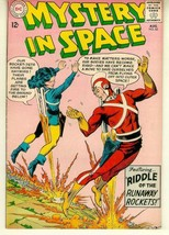 MYSTERY IN SPACE #85 (1963) ~ ADAM STRANGE! - $12.00